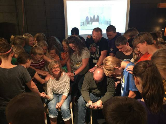 First Baptist Youth Prayer